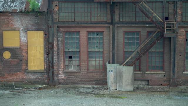 warehouse at the abandoned bethlehem steel plant - bethlehem pennsylvania stock videos and b-roll footage