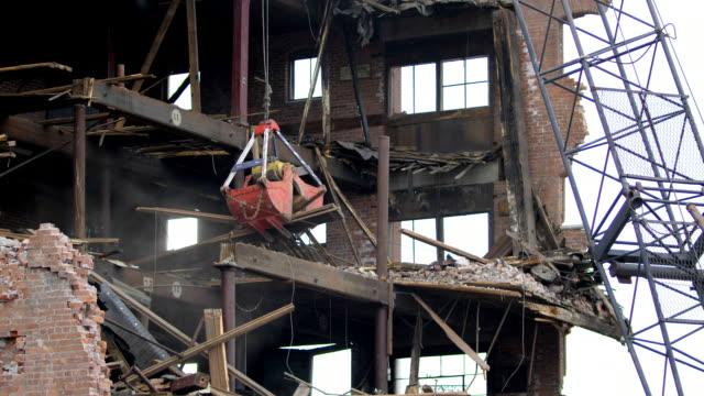 Warehouse Buidling Demolition 3 Medium Orange Clamshell