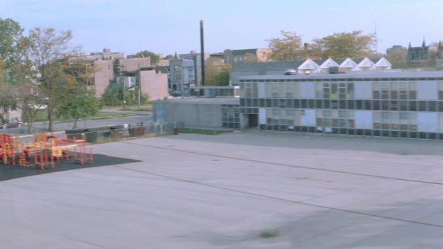 warehouse, factories and empty lots fill the outskirts of chicago. - warehouse stock videos & royalty-free footage