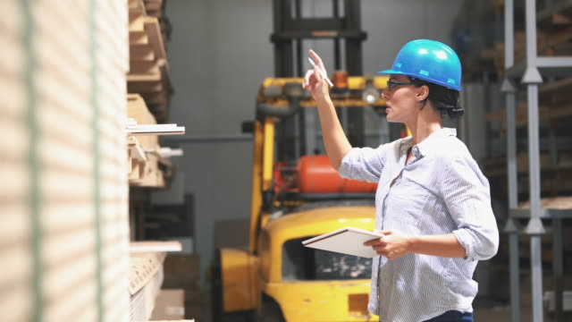 warehouse inspection. - neat stock videos & royalty-free footage