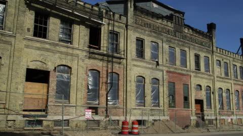warehouse milwaukee - abandoned stock videos & royalty-free footage