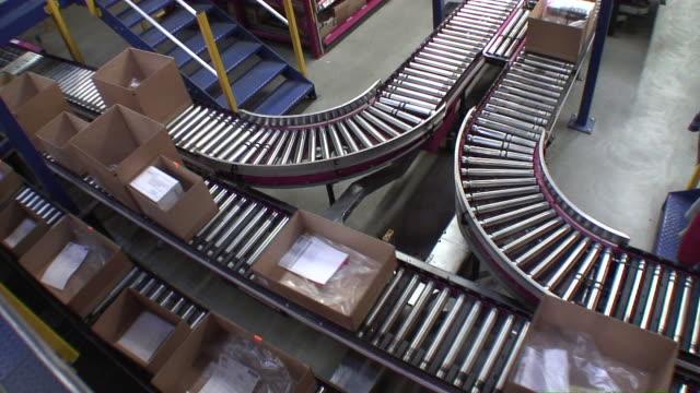 WS Warehouse of  mail order company / Hanau, Hesse, Germany