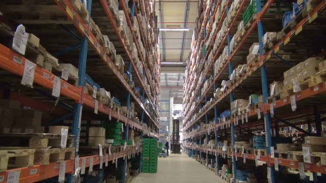 MS Warehouse of trucking company / Opfenbach, Bavaria, Germany