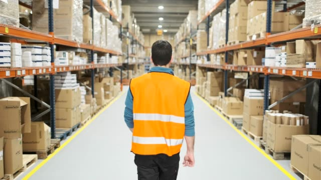 warehouse workers. - computer part stock videos & royalty-free footage