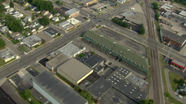 Warehouses In A Detroit Suburb