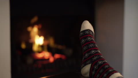 a warm home is a happy home - cozy stock videos & royalty-free footage