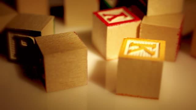 Warm Spotlight - ABC Learning Blocks
