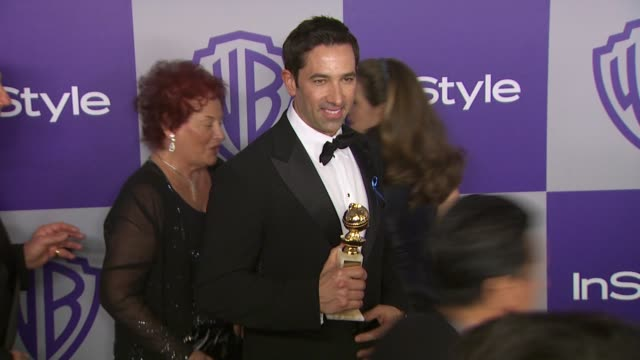 warner bros and instyle golden globe after-party, beverly hills, ca 1/17/10 - アシュレー・オルセン点の映像素材/bロール
