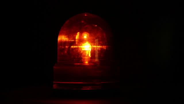 warning light - todesopfer stock-videos und b-roll-filmmaterial