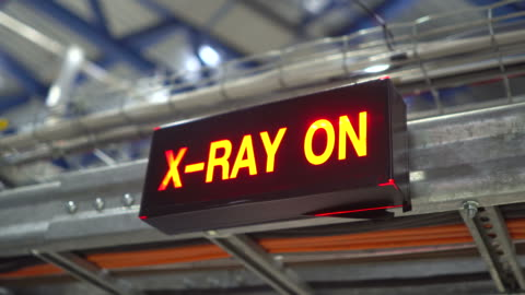 warning sign of x-ray - x ray image stock videos & royalty-free footage