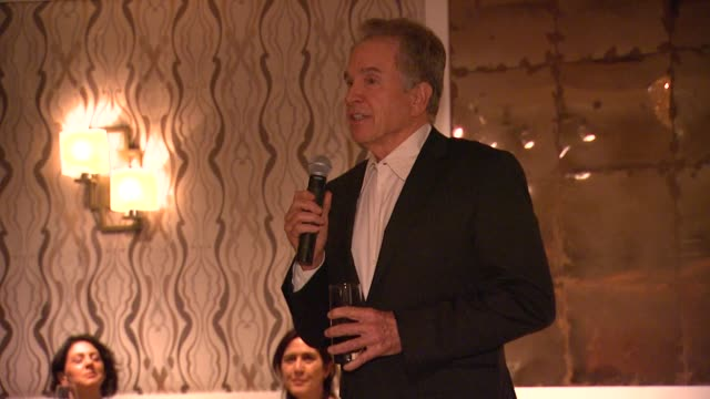 warren beatty at the 100th anniversary celebration of the beverly hills hotel bungalows supporting the motion picture television fund speech warren... - beverly beatty stock videos & royalty-free footage