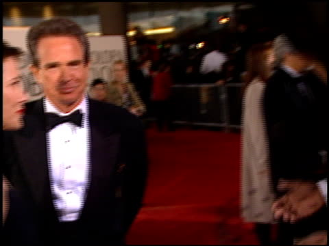 warren beatty at the 1996 golden globe awards at the beverly hilton in beverly hills california on january 21 1996 - beverly beatty stock videos & royalty-free footage