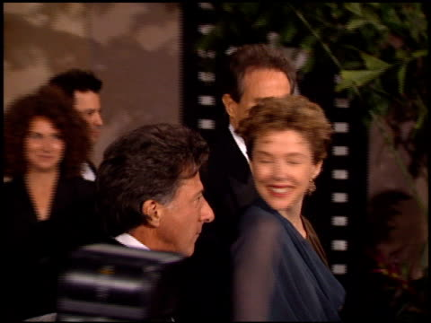 warren beatty at the afi awards 94 at the beverly hilton in beverly hills california on march 3 1994 - beverly beatty stock videos & royalty-free footage