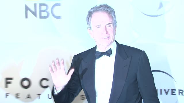 warren beatty at the nbc universal's 68th annual golden globes after party at beverly hills ca - beverly beatty stock videos & royalty-free footage