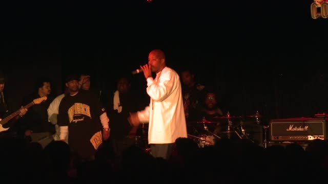 warren g at the 5th annual black eyed peas peapod foundation benefit concert at los angeles ca - benefit concert stock videos & royalty-free footage