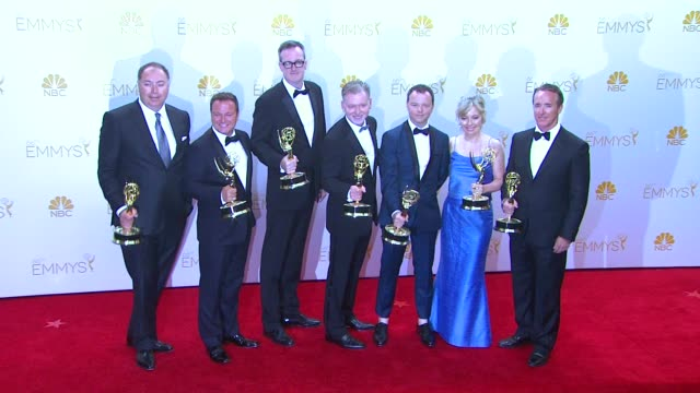 Warren Littlefield at 66th Primetime Emmy Awards Photo Room in Los Angeles CA
