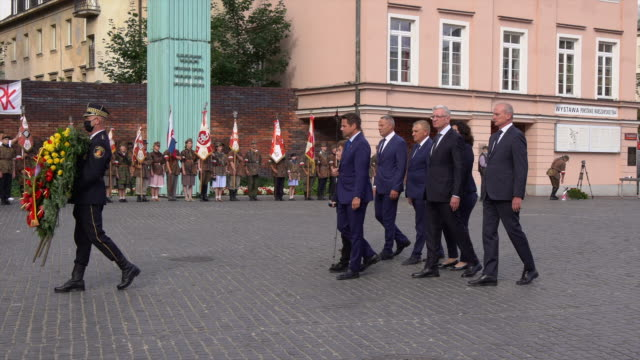 POL: 76th Anniversary of Warsaw Uprising Celebrated in Warsaw