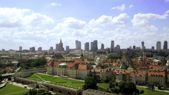 warsaw old town - warsaw stock videos & royalty-free footage