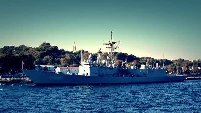 軍艦の桟橋