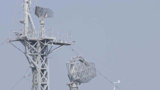 warship radar - radar stock videos & royalty-free footage