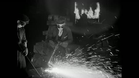 1942 wartime uk - steel stock videos & royalty-free footage
