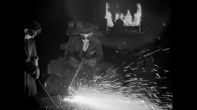 1942 wartime uk - metal industry stock videos and b-roll footage