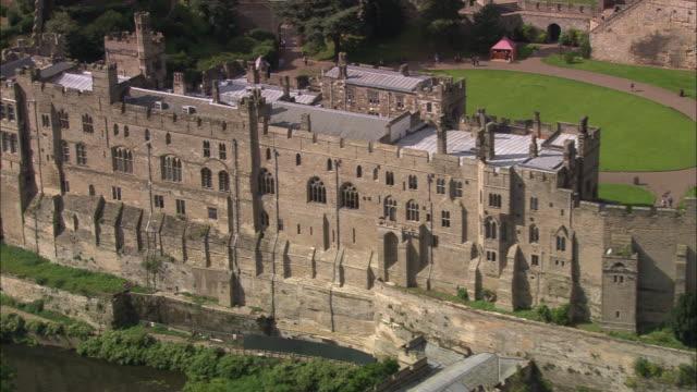 warwick castle - william the conqueror stock videos & royalty-free footage