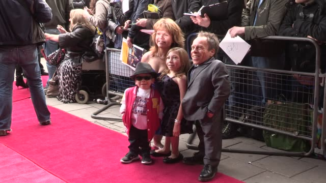 warwick davis at we will rock you - 10 year anniversary celebration at dominion theatre on may 14, 2012 in london, england - the dominion theatre stock videos & royalty-free footage