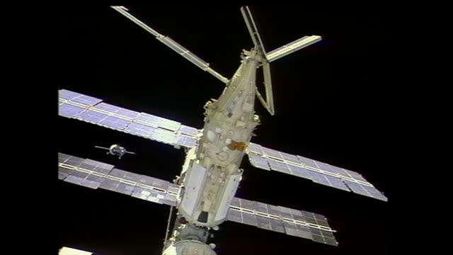 STS71 was the third mission of the US/Russian ShuttleMir Program and the first Space Shuttle docking to Russian space station Mir Elements of this...