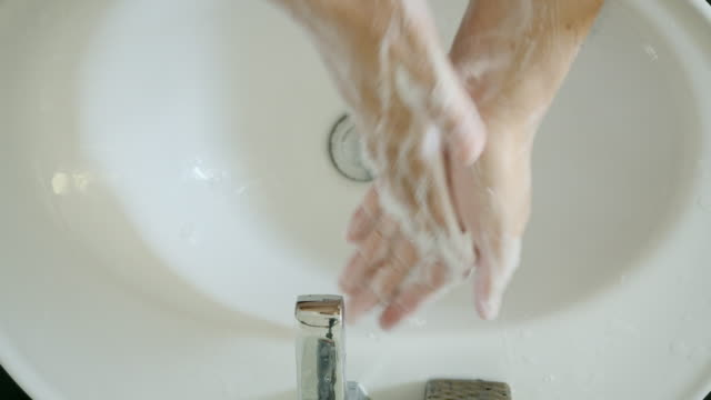wash your hands with soap. - soap sud stock videos & royalty-free footage