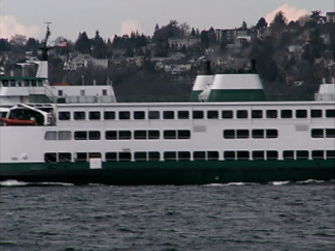 washhington state ferries #2 - ferry stock videos & royalty-free footage