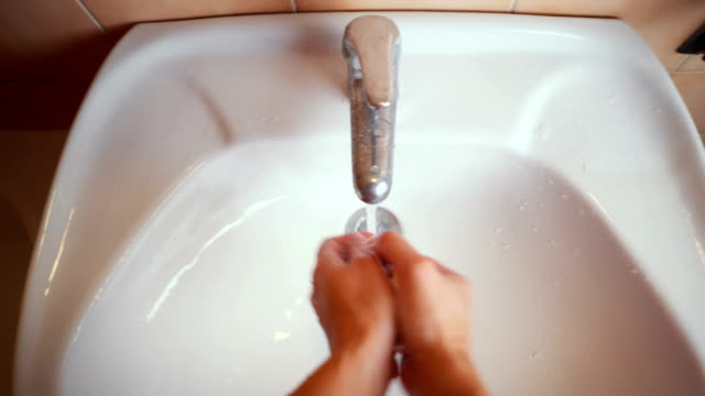 washing hands - bar of soap stock videos and b-roll footage