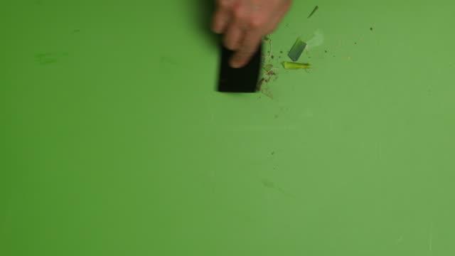 washing leeks. - annick vanderschelden stock videos & royalty-free footage