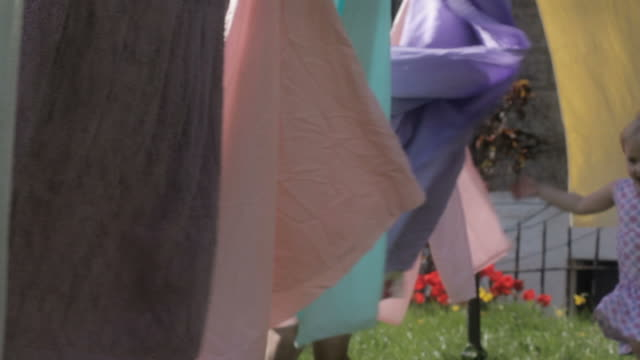 washing line games - clothesline stock videos and b-roll footage