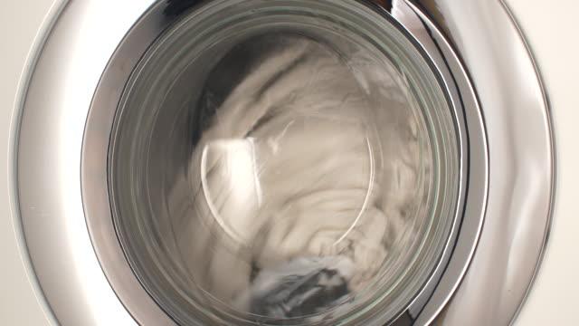 washing machine drum - washing machine stock videos and b-roll footage