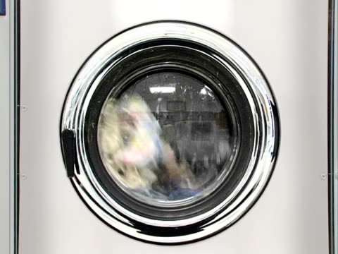 washing machine part 3, wash + sound, prog. frames - launderette stock videos and b-roll footage