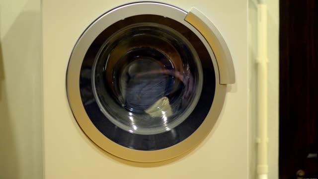 Washing machine under low light