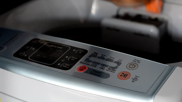 washing machine - laundry detergent stock videos and b-roll footage