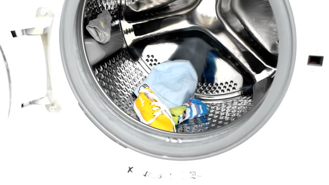 washing machine - washing machine stock videos and b-roll footage
