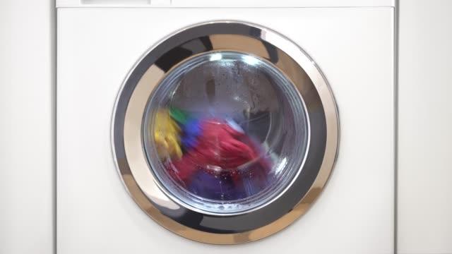 vídeos y material grabado en eventos de stock de lavadora con lavadero - lavadora