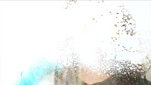 hd: washing the windows - window washer stock videos & royalty-free footage