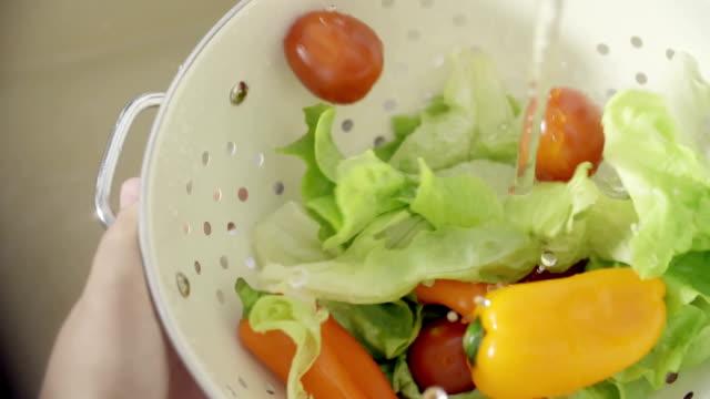 Waschen Gemüse