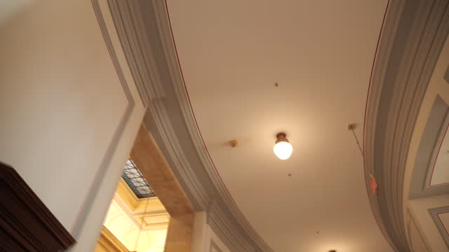 washington capitol hill interiors - federal building stock videos & royalty-free footage
