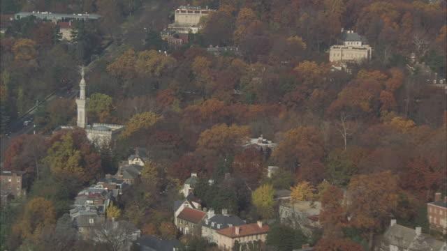 AERIAL, Washington DC, Autumn, Washington, USA