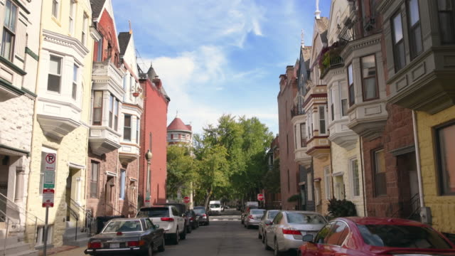 washington dc cityscapes dupont circle - washington dc stock videos & royalty-free footage