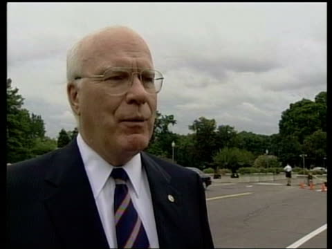 Washington DC Senator Patrick Leahy interviewed SOT Unfortunately when your dealing with murderous terrorist fanatics it's like a hydra headed...