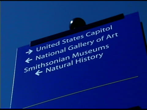 washington dc information sign - information sign stock videos & royalty-free footage