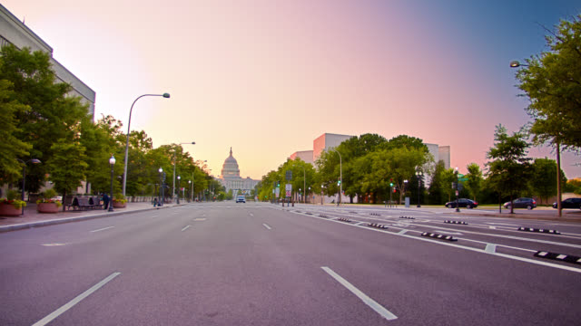 washington dc street. united states capitol - united states congress stock videos & royalty-free footage