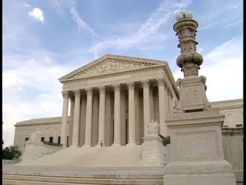 vidéos et rushes de ms, usa, washington, d.c. supreme court building - style néoclassique