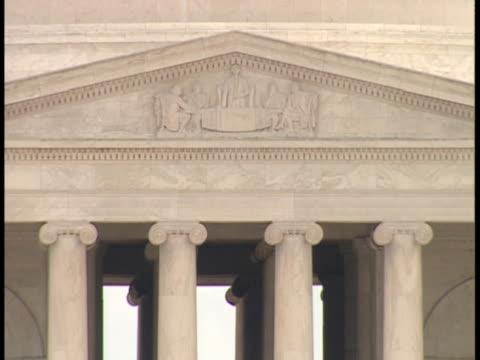 CU, USA, Washington, D.C., Tympanum of Jefferson Memorial